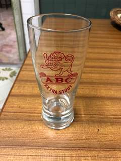 ABC Stouts drinking glasses