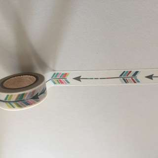 Arrows GJ58 Washi Tape 15mm x 10m