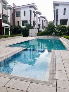 FOR RENT: BRAND NEW Townhouse in an exclusive compound in Addition Hills, San Juan City