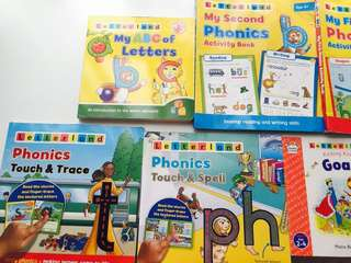 Letterland collection (educational books)