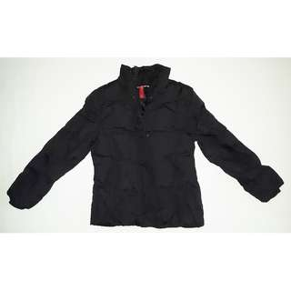 Black Autumn Jacket - UK 10 / EUR 38