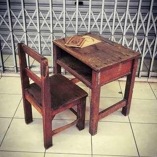 Old School Table Set