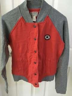 Converse varsity jacket pink