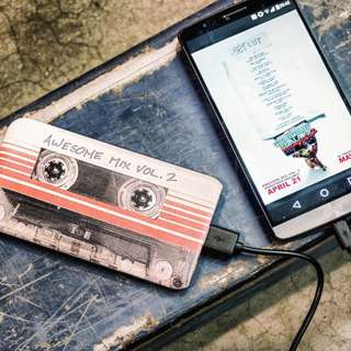 Guardians Of The Galaxy: Mixtape 4,000mAh Powerbank Preorder