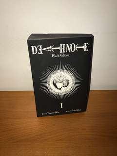 Death Note Black Edition by Tsugumi Ohba