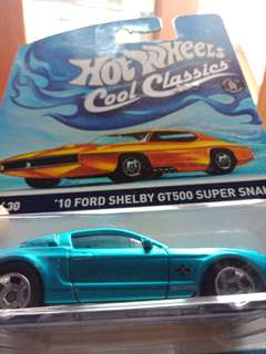 Hotwheels cool classics - 10 Ford Shelby GT500 Super Snake