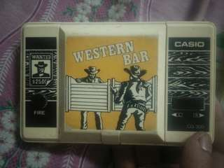 Western Bar CASIO 1984 made in japan