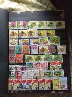 Old stamps/vintage stamps