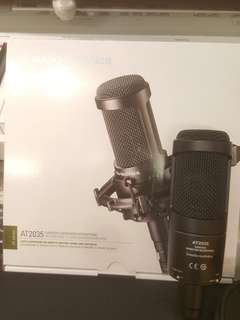 100%New 香港行貨 audio technica at2035 cardioid condenser microphone 電容咪 錄音咪