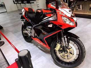 Aprilia RS 125 two-stroke motorbike 電單車