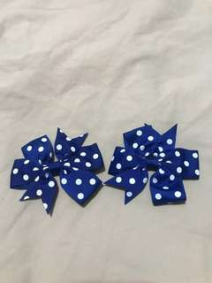 1pair of polka Clip