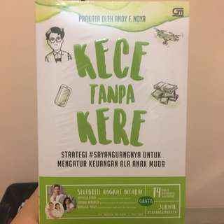 Buku KECE TANPA KERE #sayanguangnya - baru