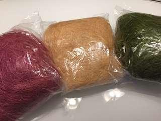 Sisal Fibre (3 packs)