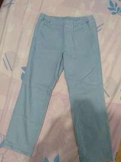 Square Pants Light Blue