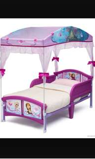 Frozen Kid Bed and Mattress 冰雪奇緣兒童床連床褥