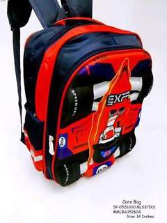 CARS BAG Size: 14 Inches  Price : 600