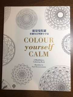 能量曼陀羅 填色書 mindfulness colouring book mandalas