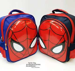 SPIDERMAN BAG Size: 14 Inches  Price : 600