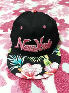 NEW YORK Floral Cap