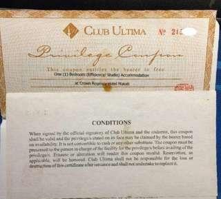 Gift Check Crown Regency