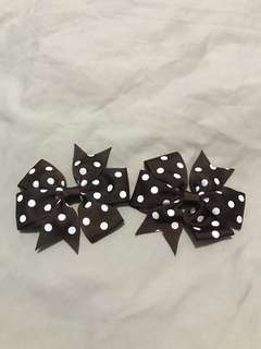 1pair of Bow clip