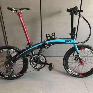 Vert foldable bike