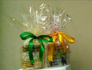Paket Kue Kering Cookies Lebaran Idul Fitri Keju Nastar Salju Coklat Sagu Pandan Enak Murah