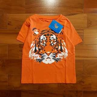 Shirt lion orange