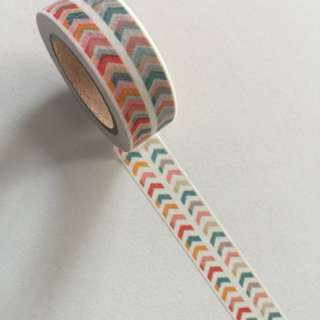 Chevron GJ63 Washi Tape 15mm x 10m