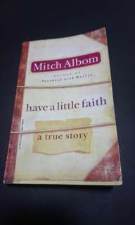 Book Sale : Have a little faith