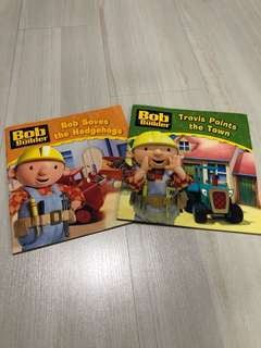 Bob the Builder Books (Set of 2)