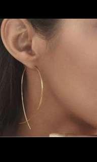 🚚 Gold earrings