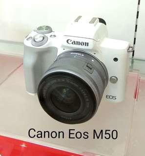 DP 0% Canon Eos M50 Kredit Tanpa Kartu Kredit
