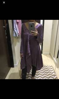 Purple Top/Tunic/Kaftan