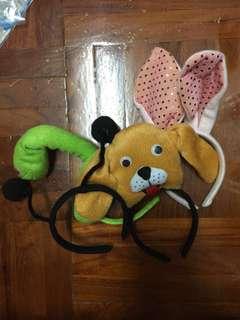 蛇 兔 狗 蜜蜂 鼠 羊 頭箍