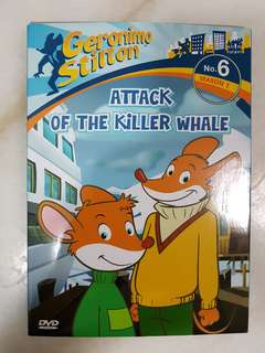Geronimo Stilton DVD - Attack of The Killer Whale