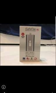 O.pro9 iSafeFile iPhone/iPad專用隨身儲存加密碟.擴充碟(32GB)