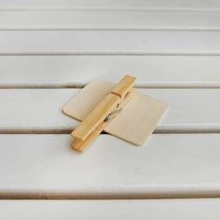 Blackboard Wooden Clip