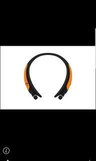 防水濺運動藍牙頸掛耳機 HBS-850(亮橘)