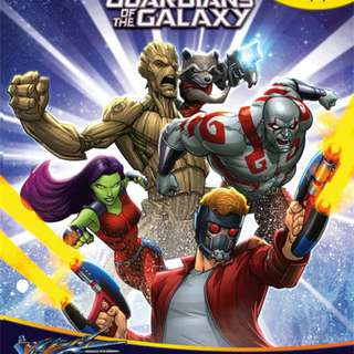 Buku Anak MY BUSY BOOK GUARDIAN OF THE GALAXY