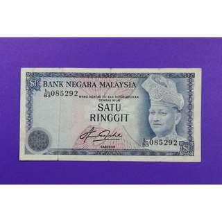 JanJun $1 4th L/83 085292 Siri 4 Aziz Taha 1981 RM1 Duit Lama
