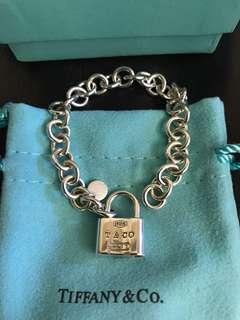Tiffany鎖頭手鍊(專櫃正品)