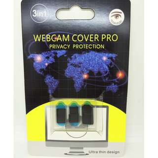 Laptop Camera Cover Privacy Protection - 鏡頭遮擋 - 3PCS - A0903