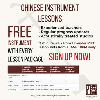 Chinese Instrument Lessons