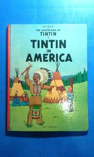 Comic Book Tintin of America