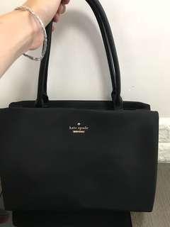 95%new Kate Spade nylon handbag