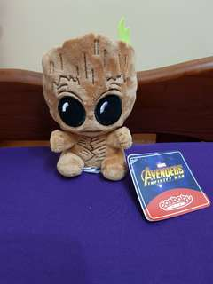 BNWT Avengers Groot soft toy