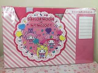 ‼️(Exclusive from Japan) Brand new Sailormoon x My Melody File holder