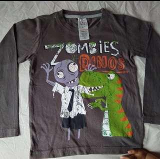 [readystock] USED Urban Rascal boys LS tshirt (size 6-7y)