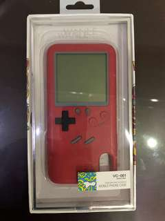 Iphone X case gameboy